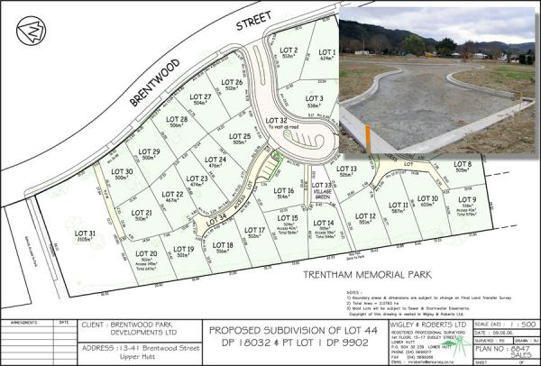 30 Lot Freehold Subdivision