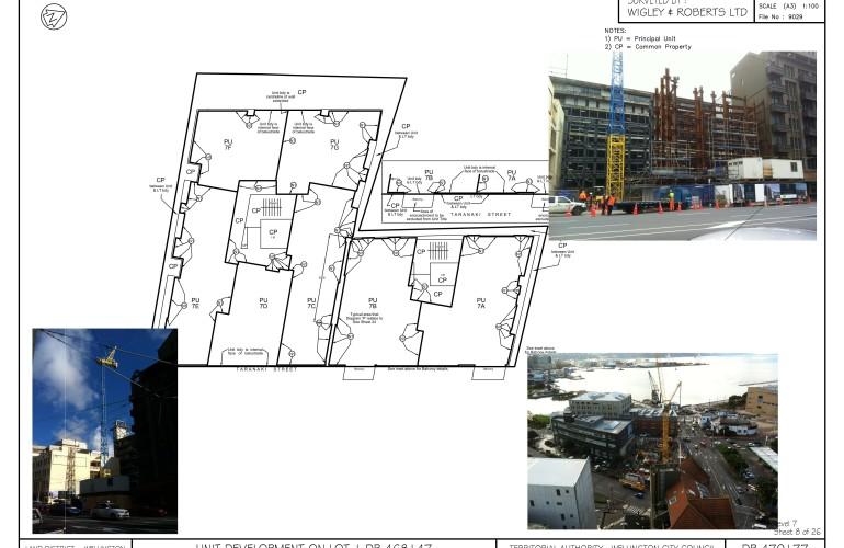 Taranaki Street – 15 storey Residential Unit Title Development